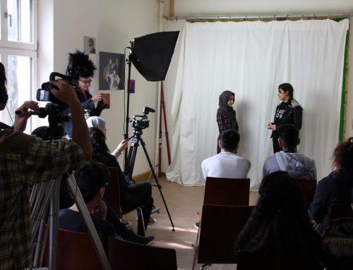 Filmsprachwerkstatt -Vorbereitungen für den Film