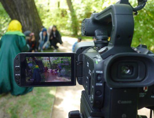 Letzte Dreharbeiten Filmsprachwerkstatt-Premiere
