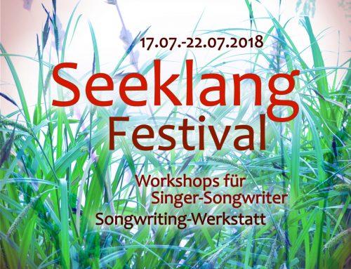 VVK fürs Seeklang-Festival gestartet